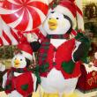 Christmast penguin decorations