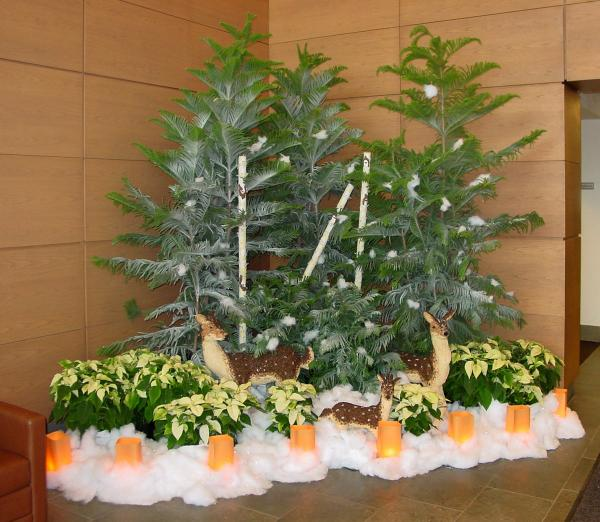 Commercial Christmas Decorations Florida: Holiday Decorating By Interior Tropical Gardens